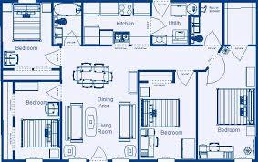 4 bedroom house floor plans innovative wonderful 4 bedroom floor plans house floor plans 4