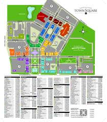 Mall Of America Stores Map by Art In The Square