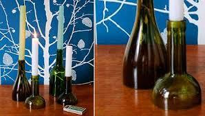 Cómo cortar una botella de vidrio con un hilo para hacer va