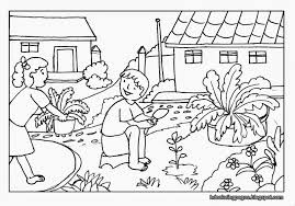 coloring pages for landscapes scenery coloring pages nature colouring for kids farm inside new