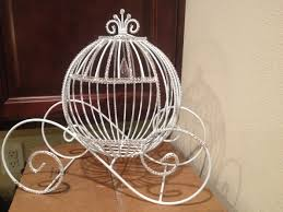 wire cinderella carriage quinceanera prom sweet 16 birthday