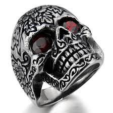 men rings men ring evil feel design jewelry silver black rings stainless