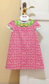 dress anak 16 best batik anak anak images on girl dresses