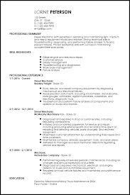 Auto Mechanic Resume Samples by Diesel Mechanic Resume Templates Aircraft Mechanic Resume
