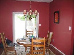 wall dining room red paint ideas u table colors for wine decorated