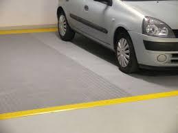 Pod Garage by Diy Renovation Of Concrete Floors I Fortelock