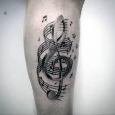music trash polka watercolor abstract tattoo by thomas sidney