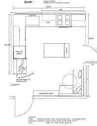 Kitchen Floorplan Kitchen Beautiful L Shaped Kitchen Floor Plans Island Small L