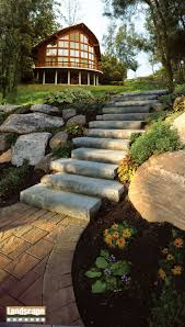 design ideas for brick and paving stone steps landscape express