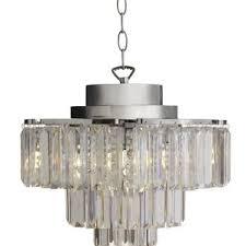 Light Crystal Chandelier Modern Plug In Chandeliers Allmodern