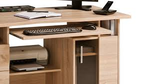 Schreibtisch Mit Computertisch Maja 4052 Computertisch In Sonoma Eiche