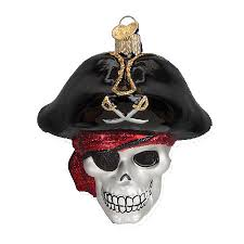 roger skull ornament world