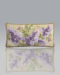 strongwater pillows strongwater lilacs pillow
