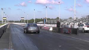 nissan leaf quarter mile time tesla model s performance vs chevrolet volt drag racing 1 4 mile