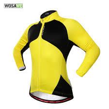 thermal cycling jacket wosawe thermal cycling jacket winter warm up blue bicycle jacket