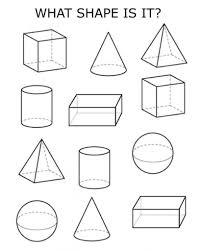 how to draw 3d shape free printable geometry worksheets 3rd grade