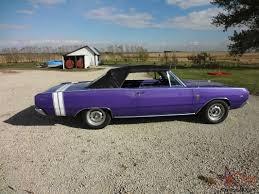 1967 dodge dart 4 door dart gt painted plum purple
