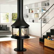 free standing wood burning fireplace installation freestanding