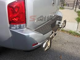 nissan rogue rear bumper protector saika enterprise u003cb u003e04 14 nissan titan u003c b u003e stainless steel