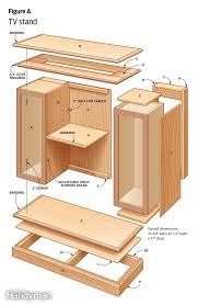 Diy Furniture Plans Free by Tv Stand Building Plans Free Homes Zone