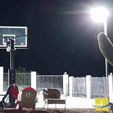 high performance backyard led basketball court lighting