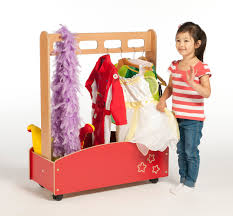 galaxy dressing up trolley kids wooden dressing up storage trolley