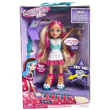 dolls that light up amazon com skechers twinkle toes 6 5 light up doll olivia sweet