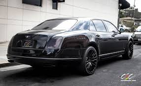 bentley mulsanne black purchase used 2013 bentley mulsanne blacked out with 22