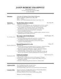 Sample Resume Of Sales Associate by Resume Summer Internship Resume Sample Materials Handler Resume