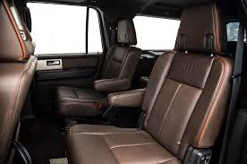 ford expedition interior 2016 2015 ford expedition el king ranch first test