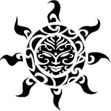 Polynesian Art Designs Polynesian Sun Design Tattoos 4 Flash Pinterest Maori