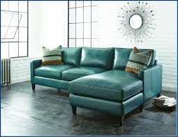 Light Blue Leather Sectional Sofa Awesome Blue Leather Living Room Carameloffers Pertaining To Light