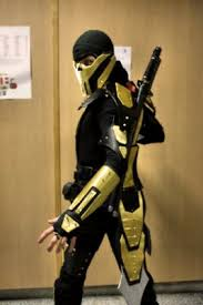 Scorpion Costume Cosplay Mortal Kombat Scorpion By Cosplayquest Scorpion