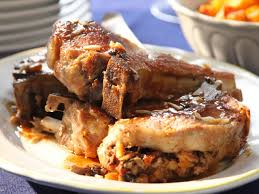 pork loin chops with stuffing recipes food for health recipes