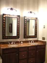 White Framed Bathroom Mirrors White Framed Bathroom Vanity Mirrors Double Vanity Ideas White