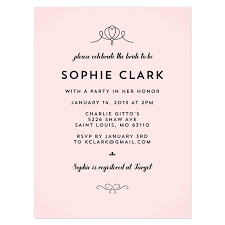 bridal invitation templates wedding shower invitation wording theruntime