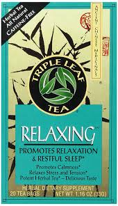amazon com triple leaf tea relaxing 20 tea bags pack of 6