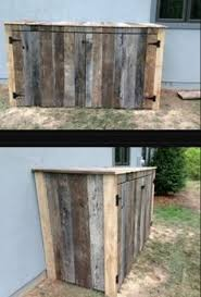 Backyard Garbage Cans by 15 Best Looking Ways To Hide Trash Cans There Are Many Easy And