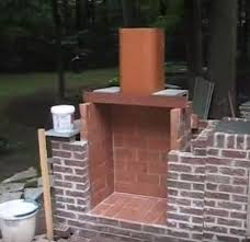How To Create An Outdoor by Imposing Decoration Build Fireplace Stunning How To Build An
