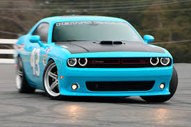 Dodge Challenger Nascar - when tires need burnin u0027 petty u0027s challenger keeps burnin u0027