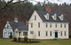 colonial home the colonial colonial exterior trim and siding the
