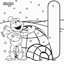 sesame street alphabet coloring pages