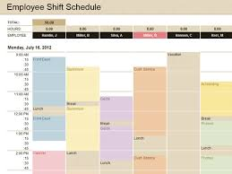 Schedule Excel Templates Employee Shift Schedule Excel Employee