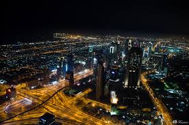night city building night dubai town hd wallpaper