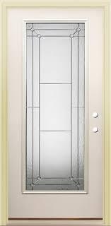 Prehung Exterior Doors Mastercraft Florence Fl 686 36 X 80 Primed Steel Lite