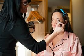 professional on location airbrush makeup artist in greenville sc