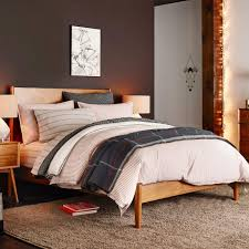 furniture beds awesome innovative home design mid century bed acorn west elm uk