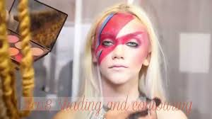 Girls Halloween Makeup Halloween How To David Bowie Makeup Look Youtube
