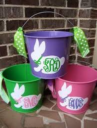 painted easter buckets personalized easter egg pails in just 10 minutes