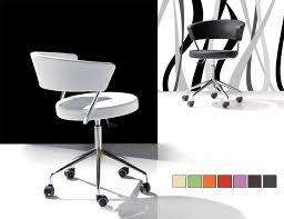 chaise design bureau chaise de bureau design en pu disponible en 9 coloris